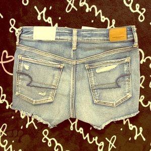 AE Hi-Rise Jean Shorts